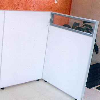 Biombos Eucaplac com vidro - 57
