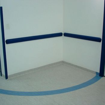 Protetor de parede/bate macas de PVC TEC 093 - 40