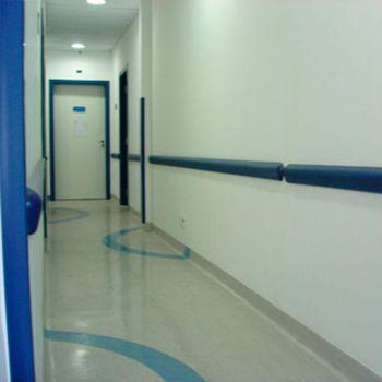 Protetor de parede/bate macas de PVC TEC 093 - 42