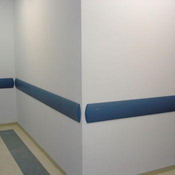 Protetor de parede/bate macas de PVC TEC 093 - 46