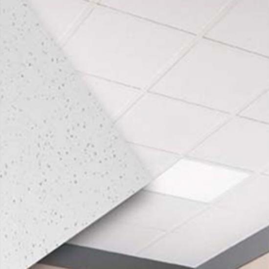 Forro de Fibra Mineral Armstrong Ceramaguard e Clean Room FL