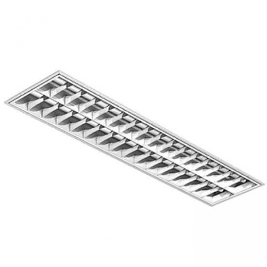 Luminária para Forro com Aletas 315x1225