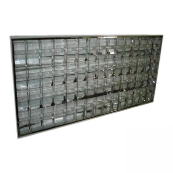 Luminária para Forros de Gesso e PVC 1,20x0,62