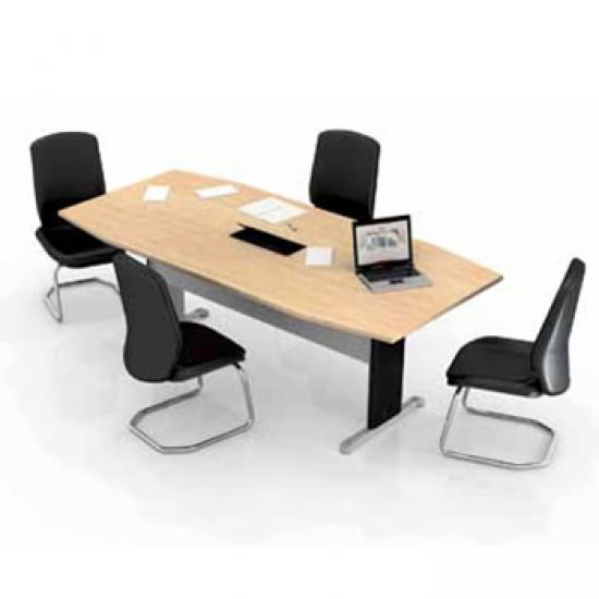 Mesa de Reunião Semi-Oval