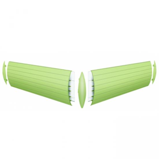 Protetor de Parede/Bate-Macas de PVC TEC 198