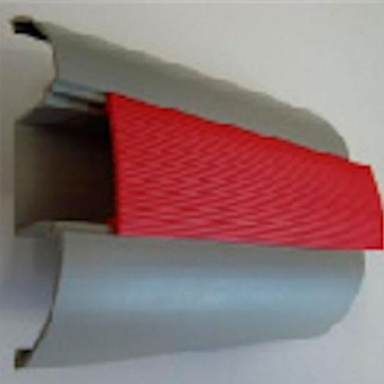 Sistema protetor de parede e corrimão